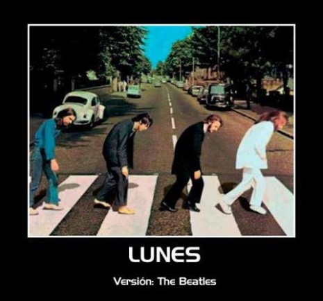 un lunes version the beatles