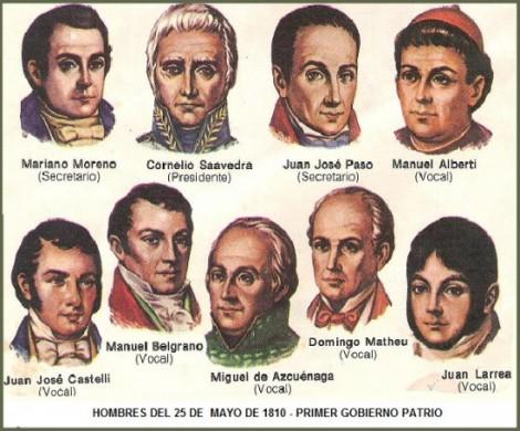 HOMBRES DE MAYO