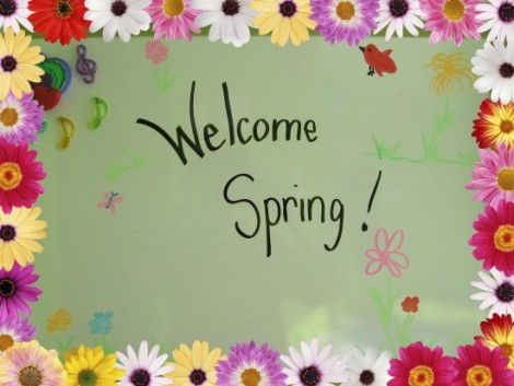Welcome spring pix