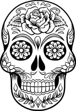 Imágenes De Día De Muertos Frases Calaveras Dibujos Y