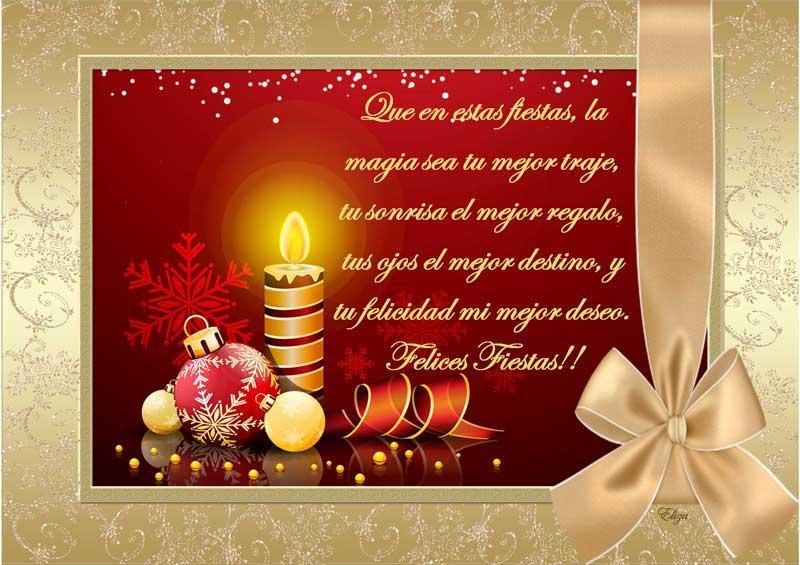 Imágenes Y Tarjetas Con Frases De Felices Fiestas Felíz