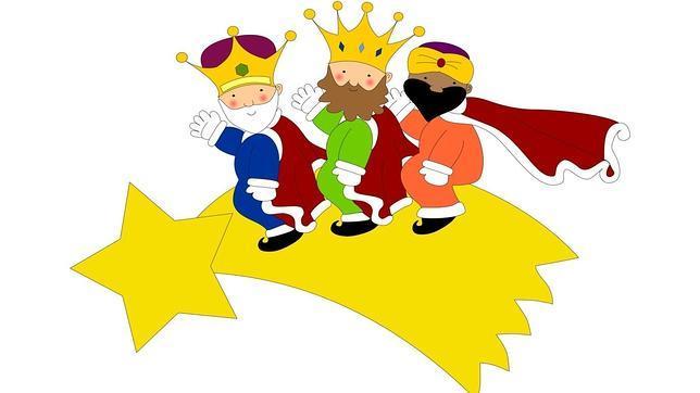 Resultado de imagen de reyes magos dibujos animados