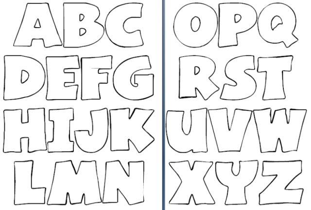 Abecedario Imágenes Del Alfabeto Para Imprimir Saberimagenescom