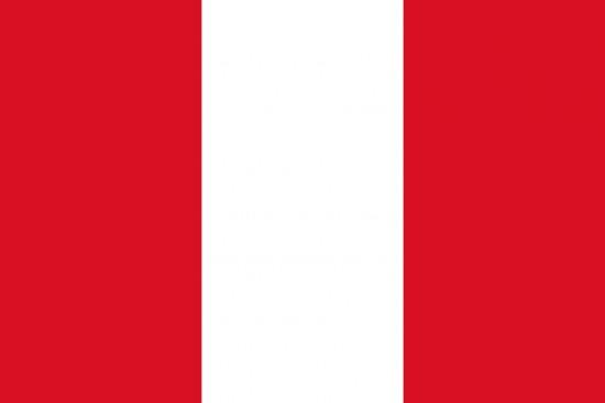 Bandera roja blanca y roja pais