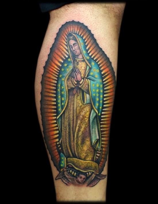 Virgen De Guadalupe Tatuaje