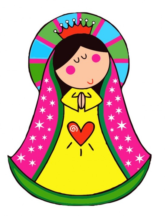 Imagenes De La Virgen De Guadalupe Para Colorear Muy Bonitas