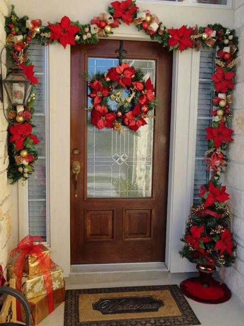 40 Mejores Fotos De Puertas Decoradas Para Navidad