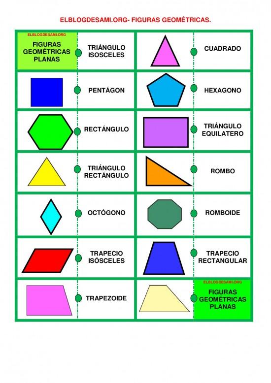 Imágenes De Figuras Geométricas Dibujos Para Armar Colorear Y