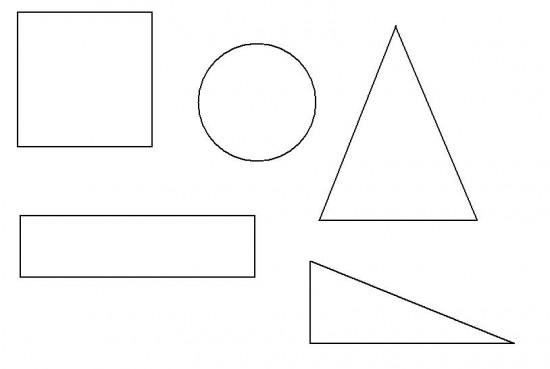 Imagenes De Figuras Geometricas Dibujos Para Armar Colorear Y