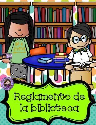Reglamento De La Biblioteca Escolar Ilustrado 2019
