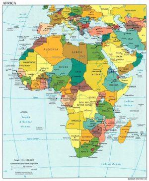Mapas De Los 5 Continentes Con Países Y Capitales Saberimagenes Com